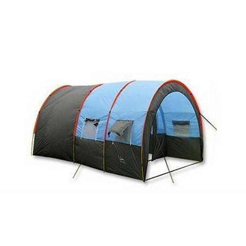5-10 person big doule layer tunnel tent outdoor camping family party hiking
