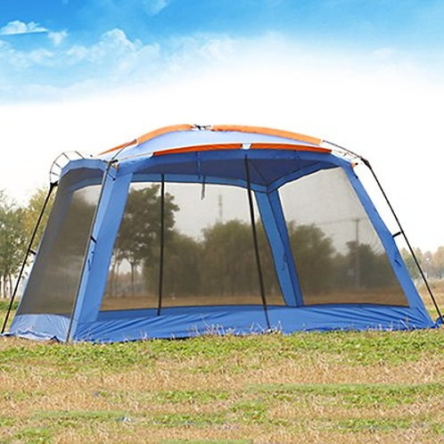 August Guide Series Ultralarge 5-8 Person Large Gazebo Camping Tent Beach Tent