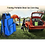 Thumbnail: Outdoor Folding Portable Stool Ice Cold Bag Fishing Backpack Storage Cooler
