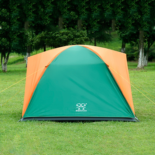 Folding Camping Tent Double Layers Outdoor Fishing Tourist Tent Ultralight