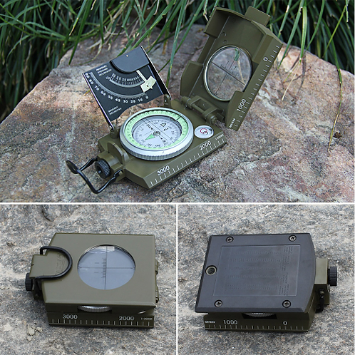 Mulitifunctional Eyeskey Survival Military Compass Camping Hiking Compass