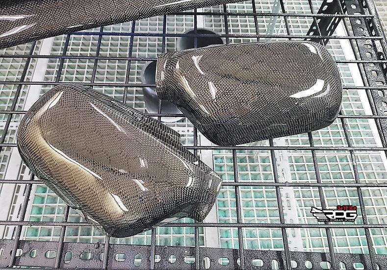 RoadRage RR Vacuum Honeycomb Carbon Mirror Cover Set