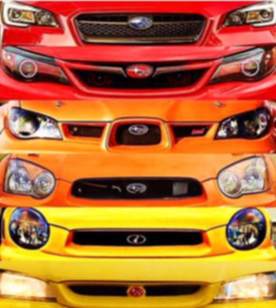 Subaru WRX STI Body Kit Aerodynamic Product