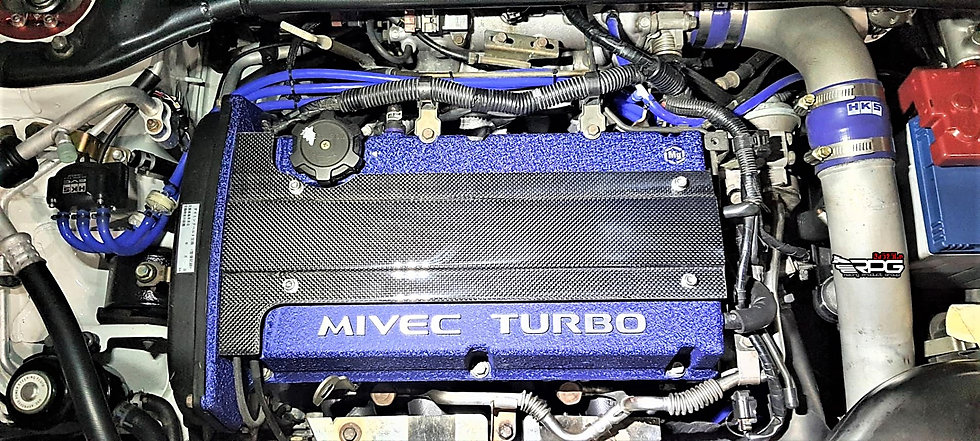 4G63 Vacuum Carbon Valve Cover