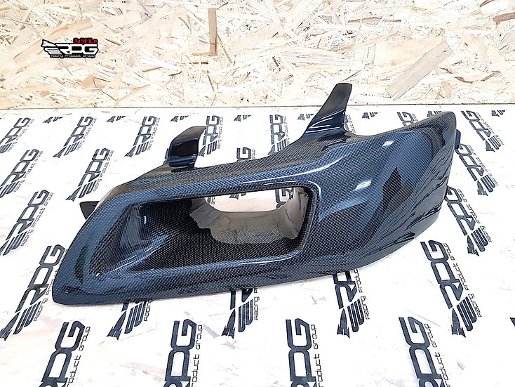 GTA Competition Vacuum Carbon Headlight Duct