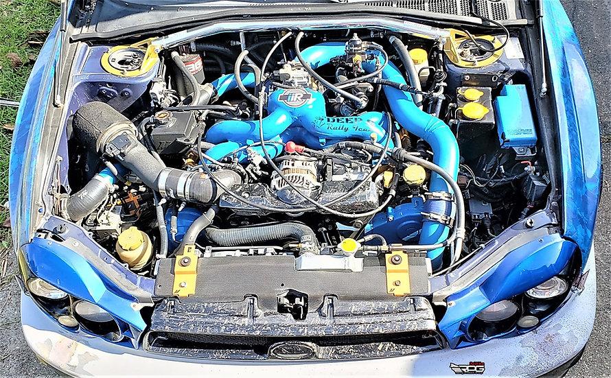 Forged Carbon Alternator Belt Cover