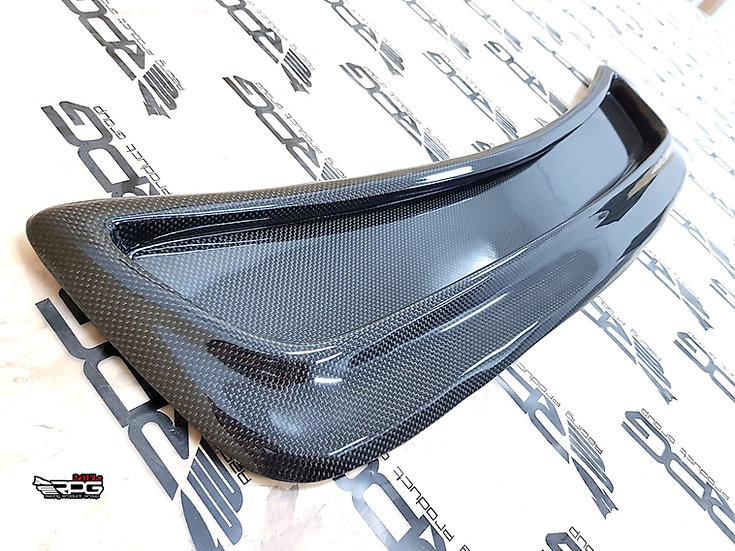 WRC World Rally S7 Carbon Fiber Closed Bonnet Hood Vent