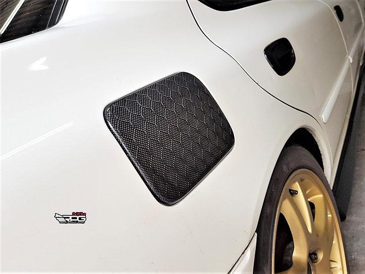 GC Chassis Carbon Fiber Fuel Door Cover
