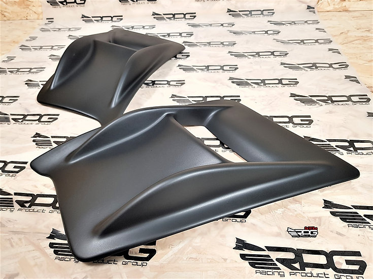 Rally X Bumper Air Duct Vent Canard Set