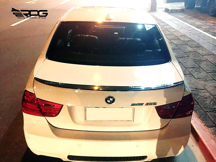 E90 M3 Icon Carbon Fiber Trunk Spoiler Wing
