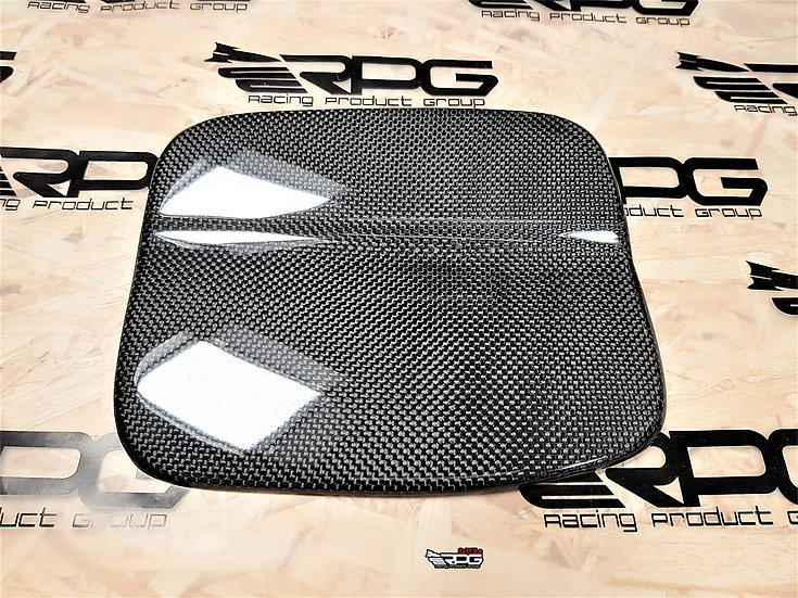 03-08 Forester SG5 SG9 Chassis Carbon Fiber Fuel Door Cover