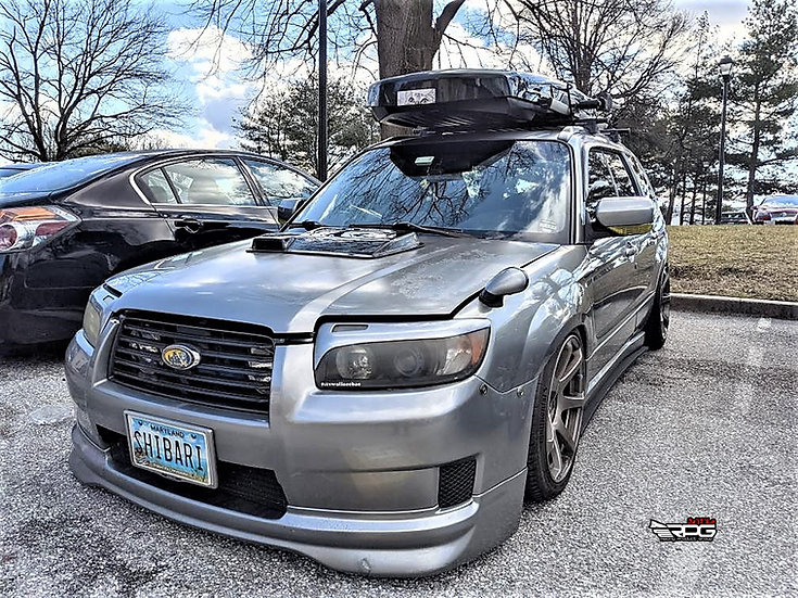 Forester AR 2-Stage FRP Hood Scoop