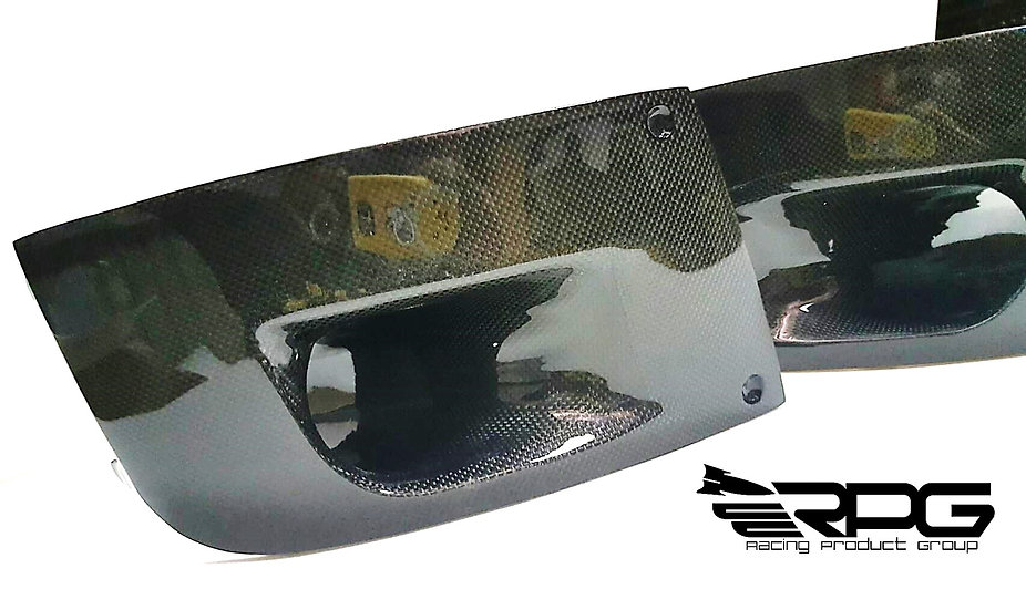 FRP Bumper Brake Intake Cold Air Cooling Ducts