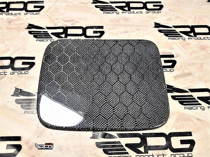GG Wagon Honeycomb Carbon Fiber Fuel Door Cover