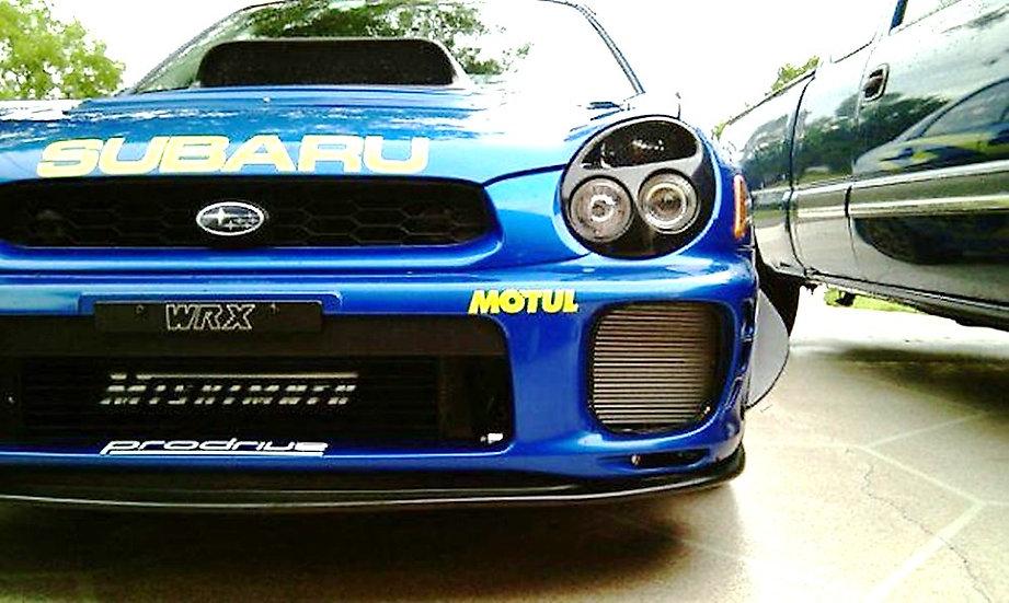WRC Rally Bumper Canard