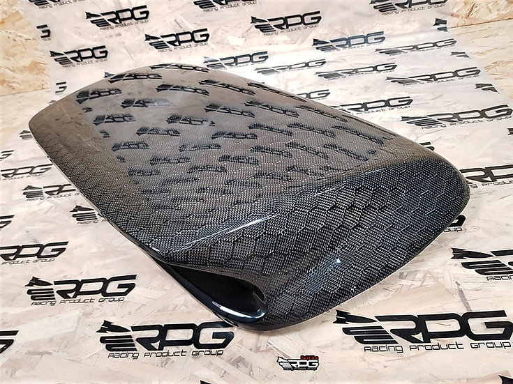 "RPG Honeycomb Large 4"" Carbon Fiber Hood Scoop Upgrade"