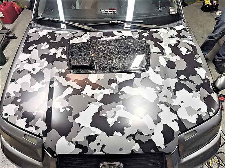 Forester AR 2-Stage Carbon Hood Scoop