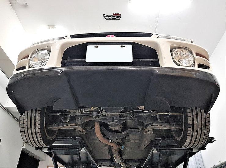 WRC Rally X Vacuum Carbon Front Lip w/ Under Splitter Design