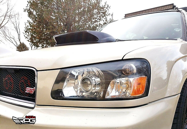 "Forester SG9 STi 4"" FRP Hood Scoop Upgrade"
