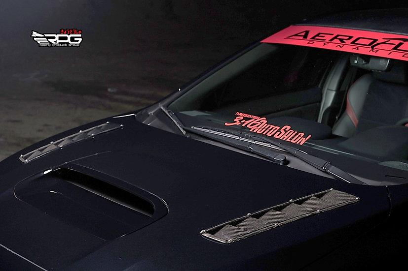 Road Rage RR Series FRP Hood Vent Heat Extractor Set
