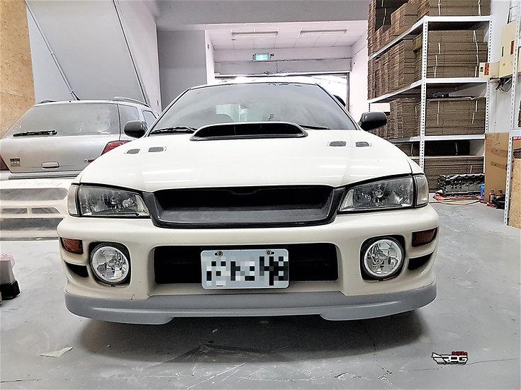 WRC Rally X Front Lip w/ Under Splitter Design