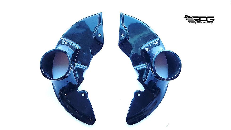 Brake Rotor Cooling Backing Plate Set