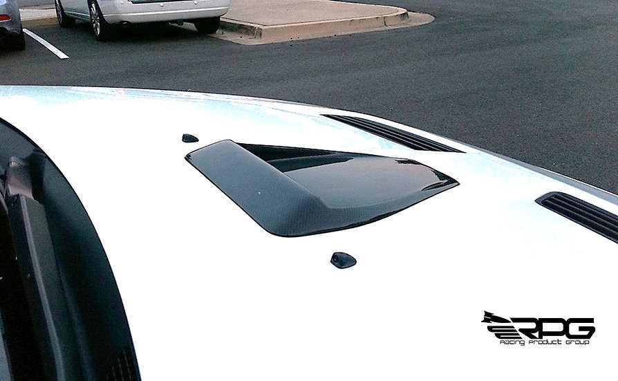 RoadRage RR Series Carbon Fiber Bonnet Hood Scoop