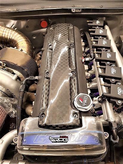 2JZGTE Vacuum 10K Carbon Valve Cover