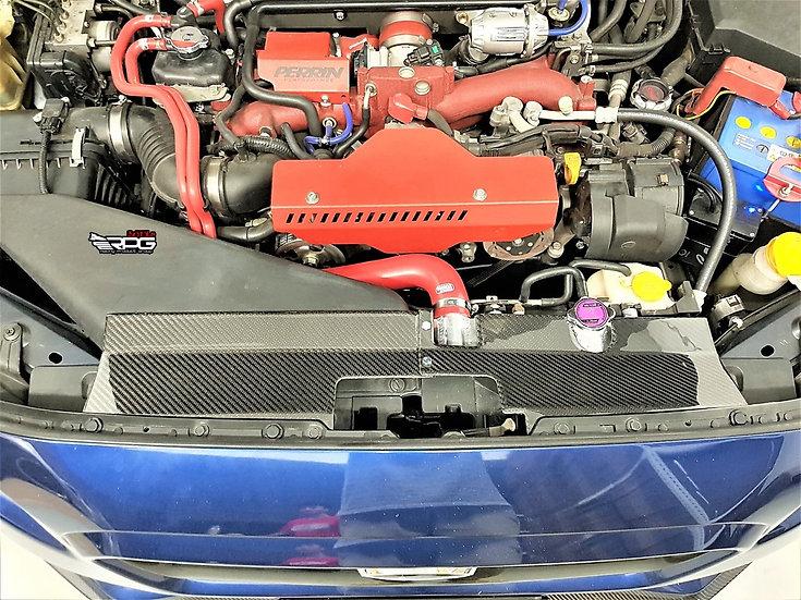 VA Carbon Fiber Radiator Shroud Cooling Plate