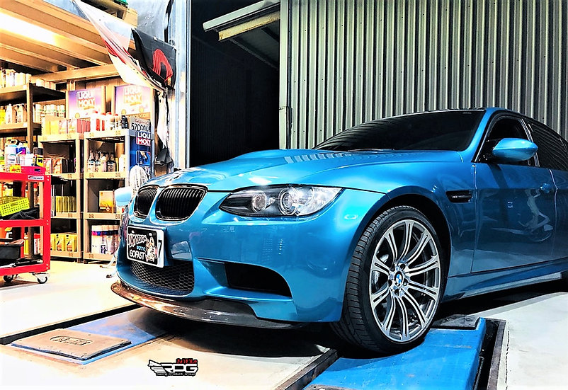 E90 E92 GTS GT3 Carbon Fiber Front Lip with Mounting Tap