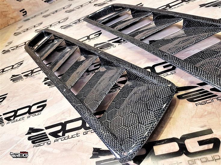 RR Series Vacuum Honeycomb Carbon Hood Vent Heat Extractor Set