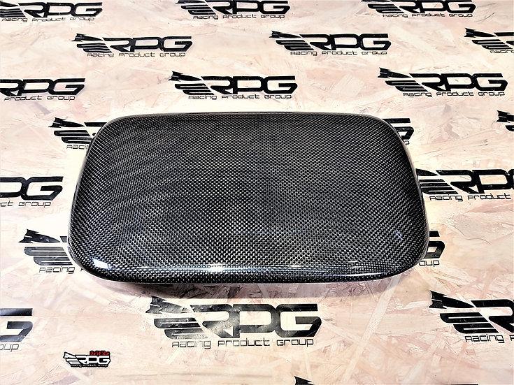 Interior Dashboard Vacuum Carbon Center Cover