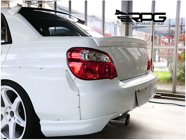 GD FRP Trunk Lid Wing Spoiler