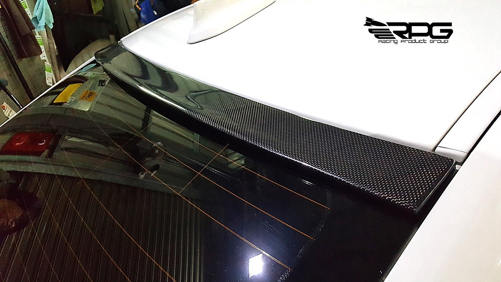 F30 Icon Carbon Roof Spoiler Wing