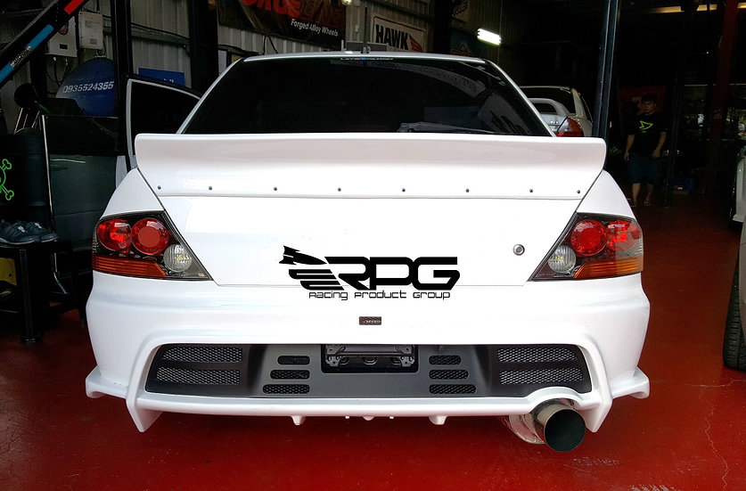 RoadRage RR Series FRP Trunk Spoiler