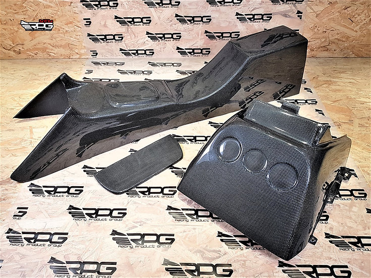 GD Chassis - Vacuum Carbon GTA Competition Center Console Kit Kit