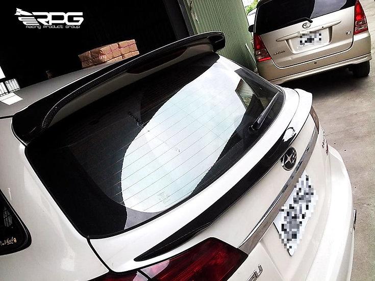 JDM Legacy BR9 Carbon Fiber Trunk Mid Spoiler Wing