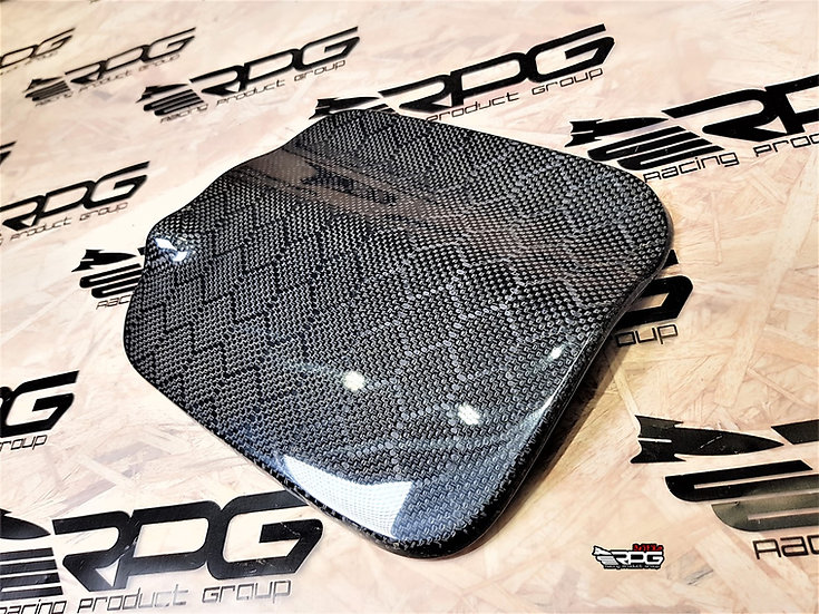 (Manual Pull Type) GC Chassis Carbon Fiber Fuel Door Cover
