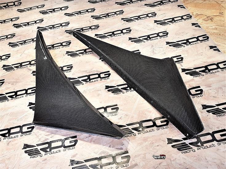 Supra JZA80 RS Front Bumper Canard Set