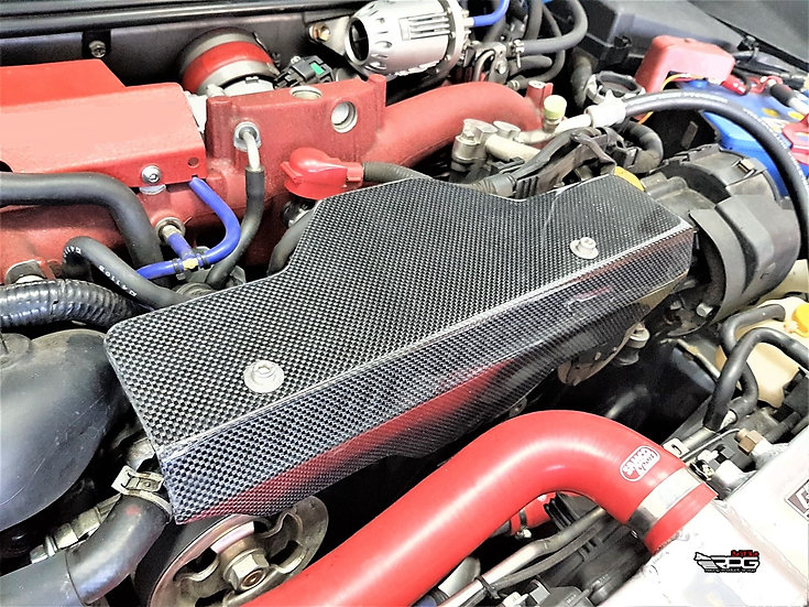SS Carbon Fiber Alternator Belt Cover