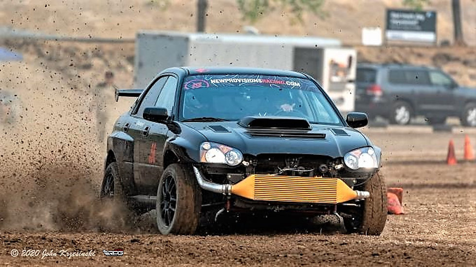 WRC GDB Rally Front Wide Fender Kit