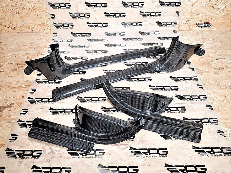 GD Sedan / GG Wagon Chassis 4pcs Vacuum Carbon Door Sill Cover Set