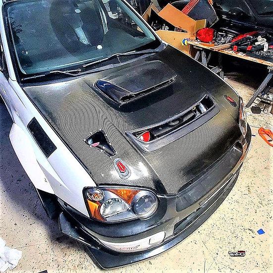 S1 FRP Bumper Canard Set