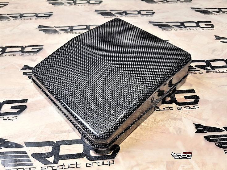 EVO X - Vacuum Carbon Engine Bay Fuse Box Cover