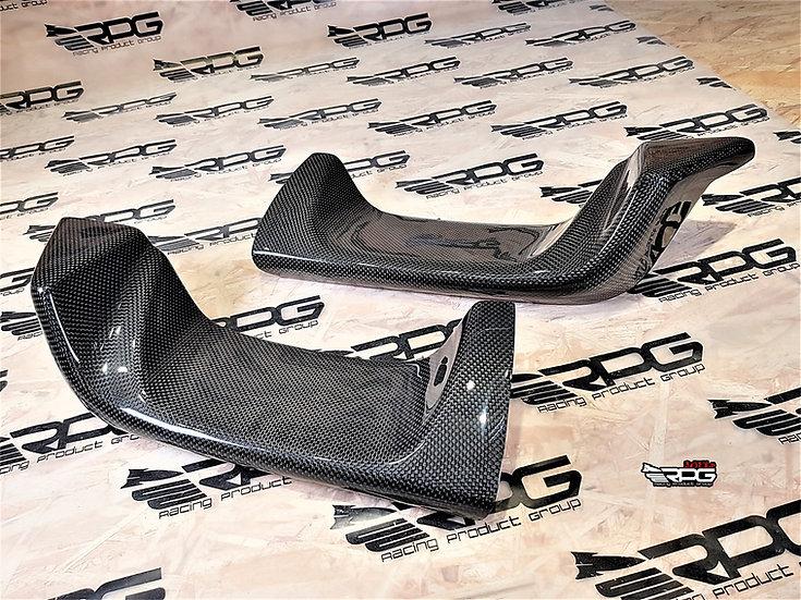 GV Sedan Vacuum Carbon Rear Bumper Exhaust Heat Shield