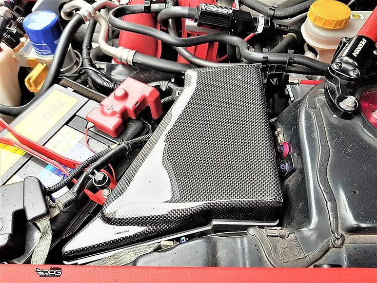 Vacuum Carbon Engine Bay Fuse Box Cover