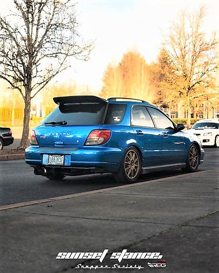 GG Wagon V1 Carbon Upper Extension Add-on Spoiler Wing