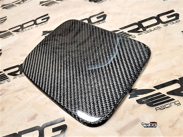 Civic EK Carbon Fiber Fuel Door Cover