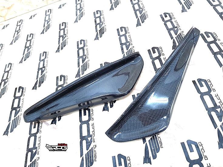 S1 Carbon Fiber Bumper Canard Set