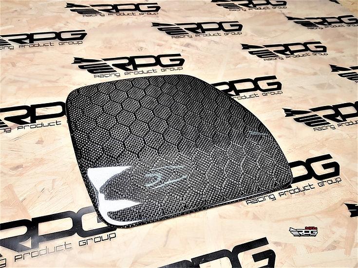 GR Chassis Widebody Carbon Fiber Fuel Door Cover